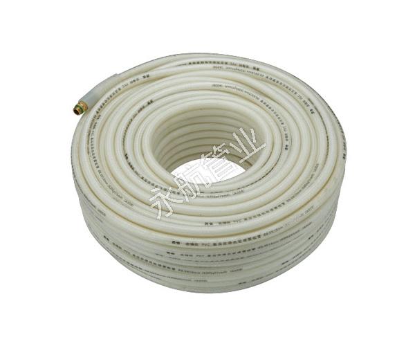 白色编织管