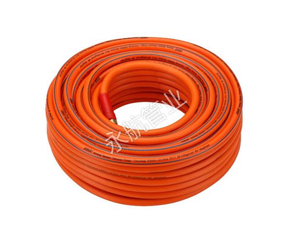 橘红色两胶一线