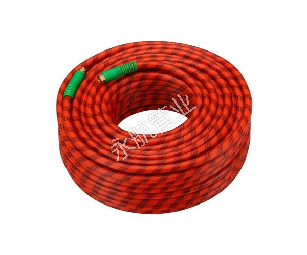 深圳红色花线编织管